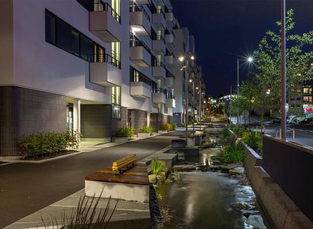 Oslo setzt auf Straßen- und Akzentbeleuchtung von AEC