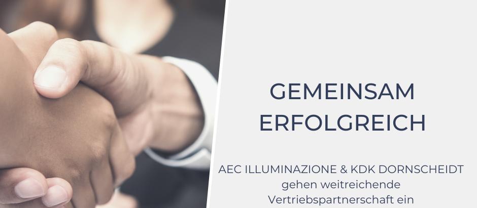 Gemeinsam erfolgreich - AEC und KDK Dornscheidt gehen weitreichende Vertriebspartnerschaft ein