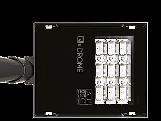 Q-DROME quadratische LED Leuchte