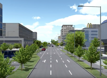 Kaiserlei - Der Verkehrsknoten im Rhein-Main-Gebiet nimmt mit AEC neue Formen an