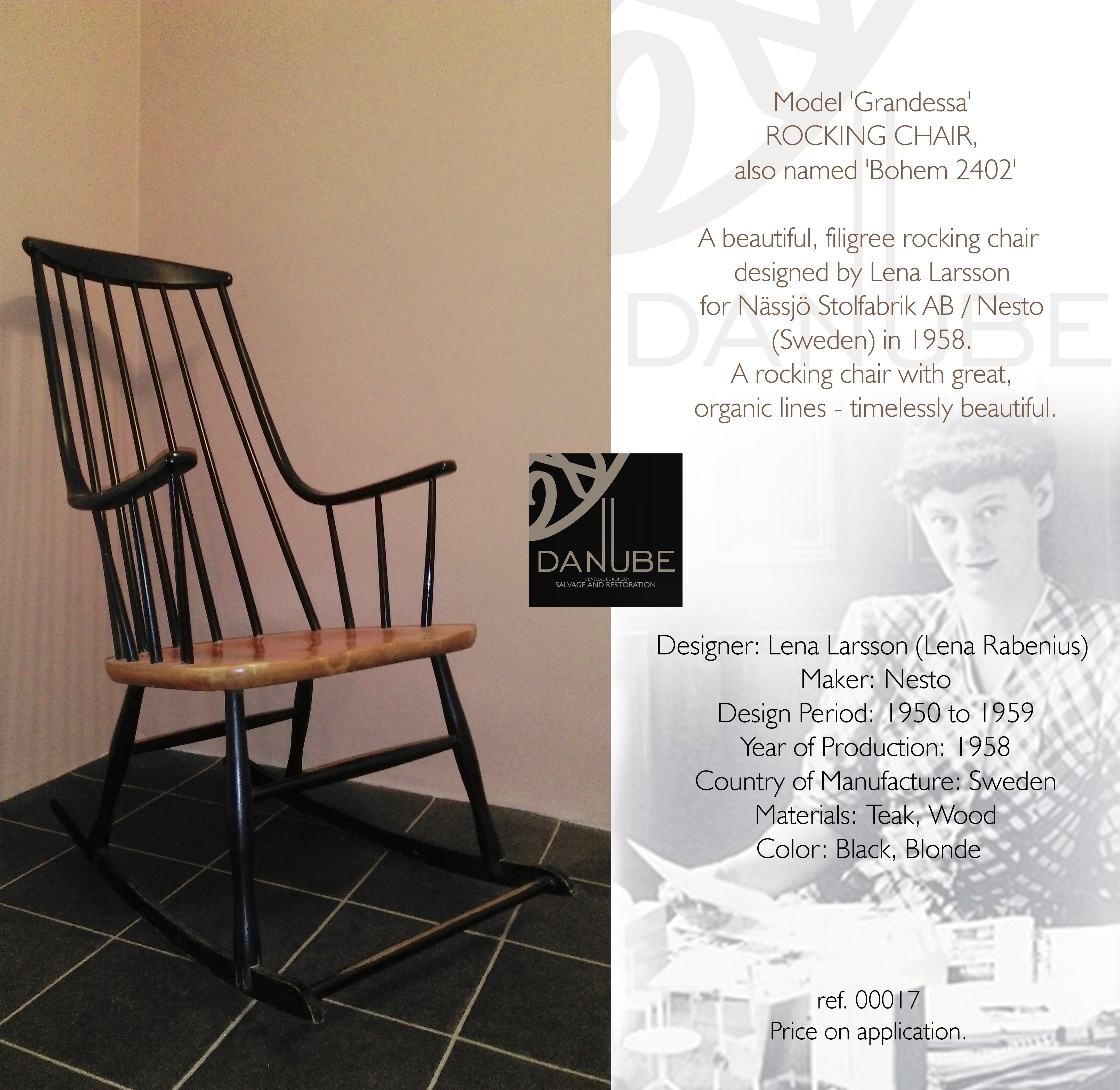 Rocking Chair By Lena Larsson