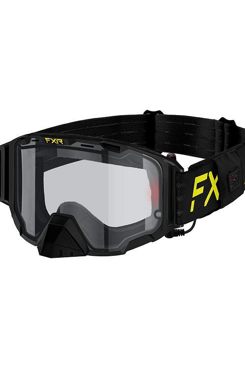 FXR Maverick elektrisk brille med batteripakke