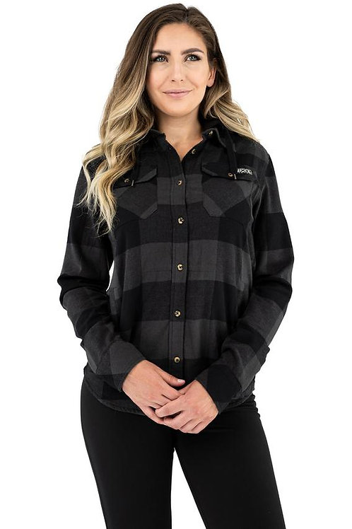 W TIMBER HOODED FLANNEL SHIRT 21