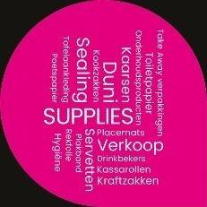 Duni - Horeca Groothandel - Onderhoudsproducten - Servetten - Take Away Verpakkingen