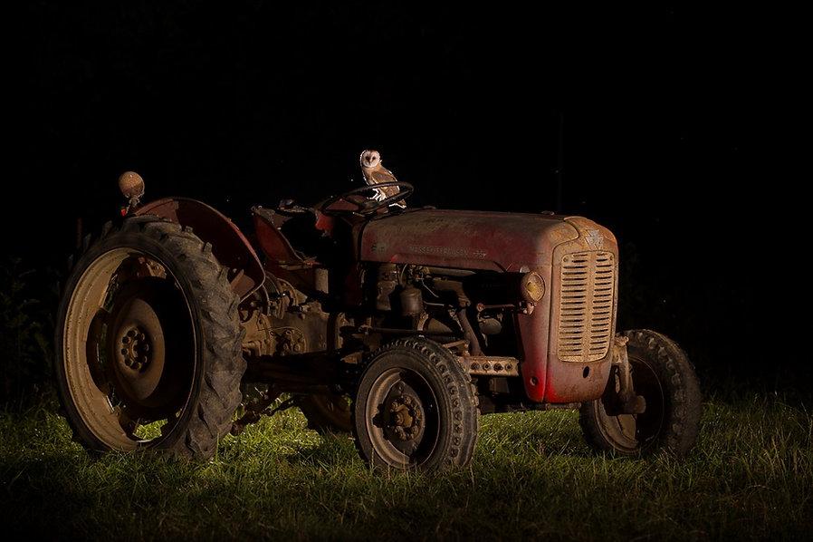 Chouette & tracteur