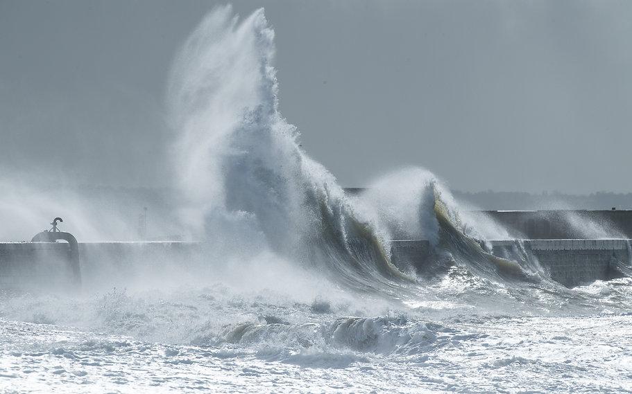 Vagues - Le Havre