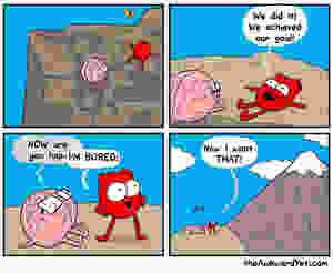 Heart brain and goals