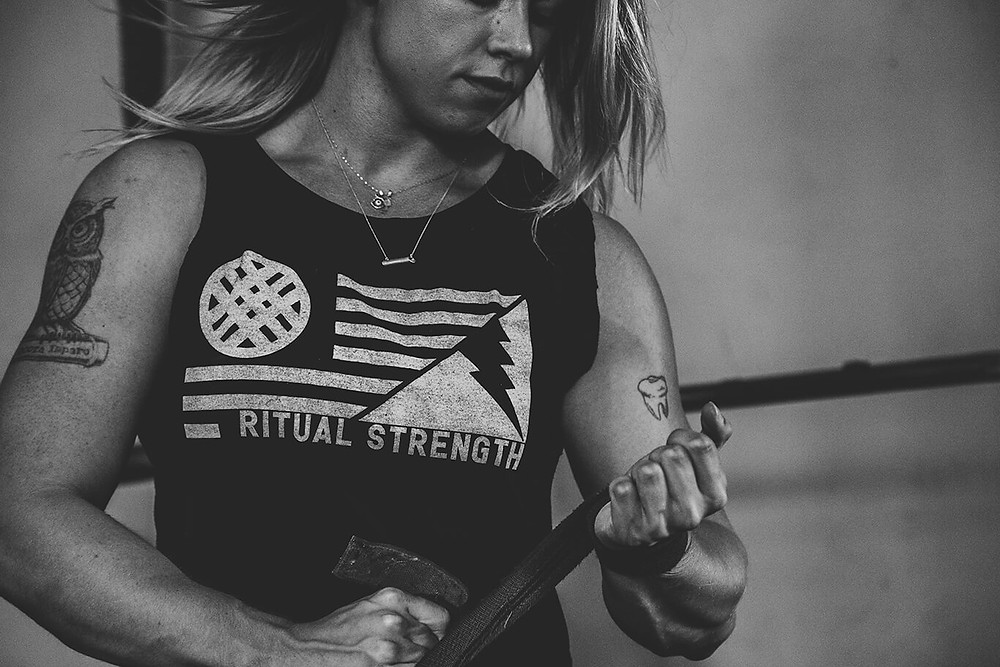 Strong woman. Photo by Alora Griffith.
