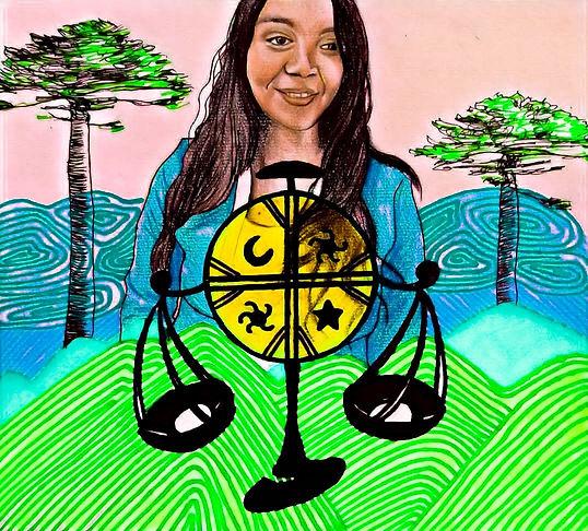 Ana Carvajal mapuche warria.jpg