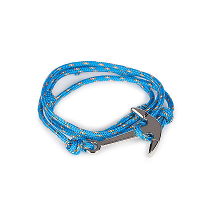 Luck's knot - Anchor silver