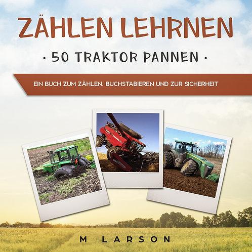 Zählen Lehrnen 50 Traktor-Pannen