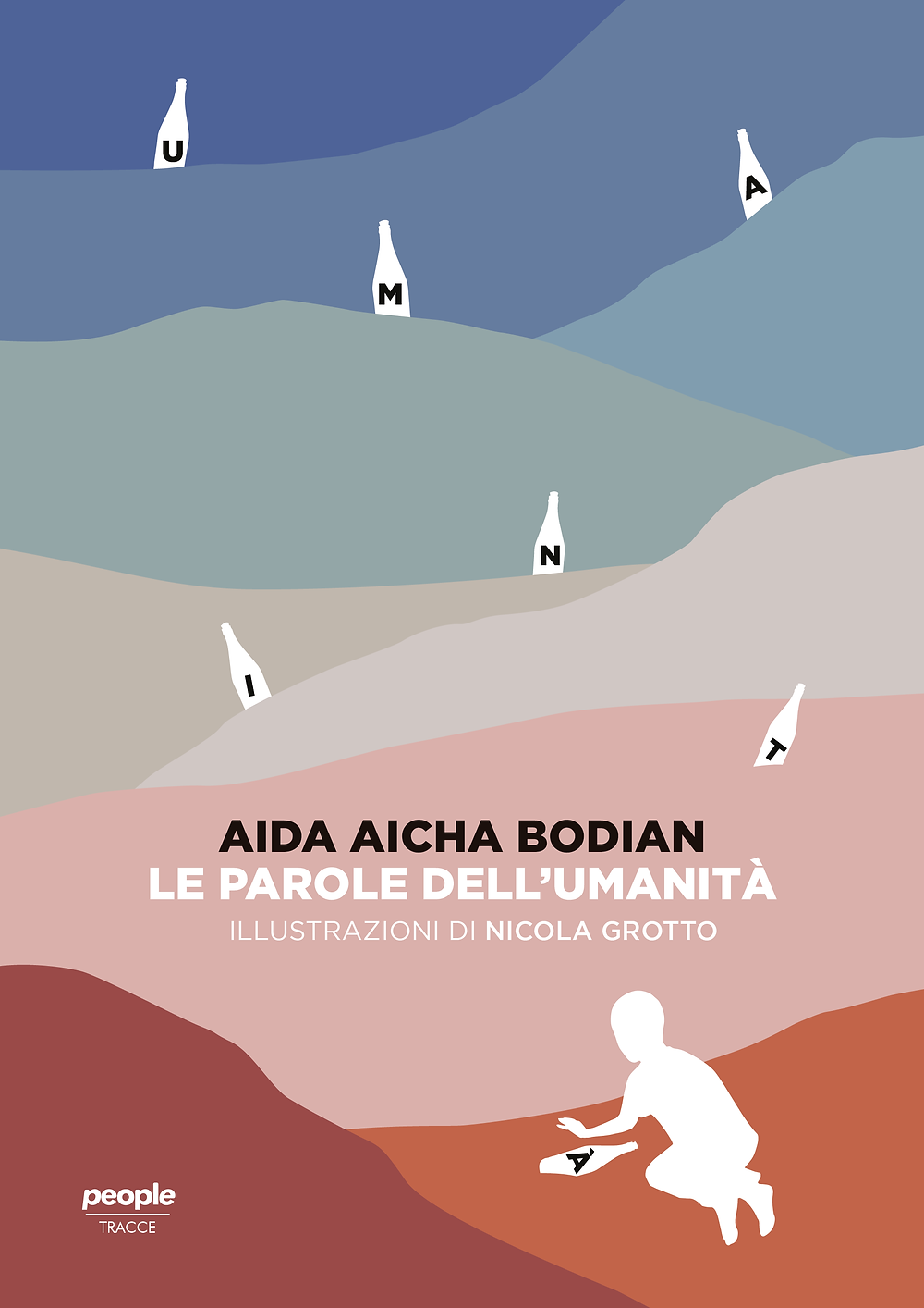 """Immagine della copertina del libro di Aida Bodian """"Le parole dell'umanità""""."""""""