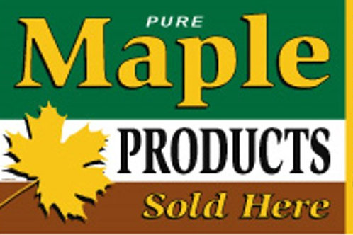 Maple Products Sold Here Flag