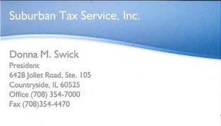 Donna M. Swick - Suburban Tax Service Inc