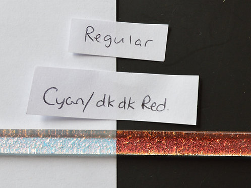 Cyan Dk Dk Red Standard Dichroic Strip