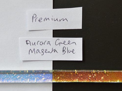 Aurora/Green Magenta Blue Premium Dichroic Strips