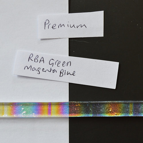RBA Green Magenta Blue Premium Dichroic Strips