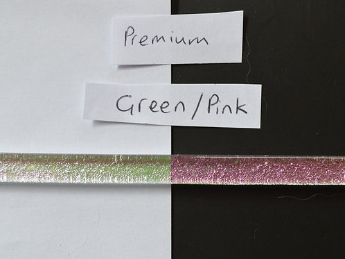 Green Pink Premium Dichroic Strips