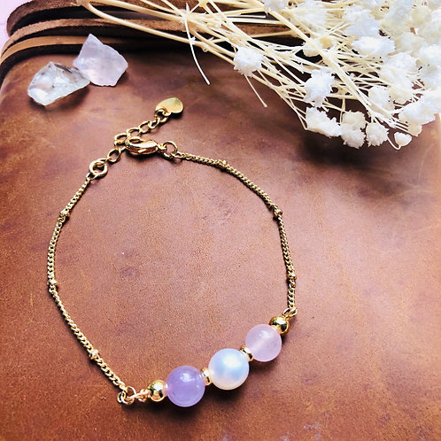 Pearly Pastels (14K Plating)