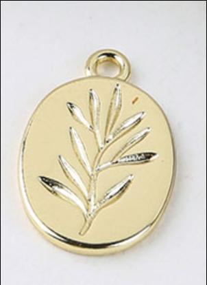 Leaf Coin   14 x 21 mm (M)