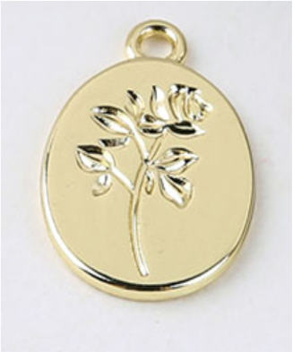 Rose Coin | 14 x 21 mm (M)