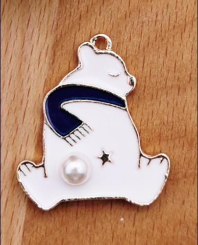 Polar Bear | 24 x 28  mm (L)