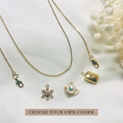 [Customise your charm] 2-Way Mask Chain/Necklace