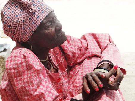 Celebrating Hildegaart |Nuas of Sesfontein - 90 years still dancing