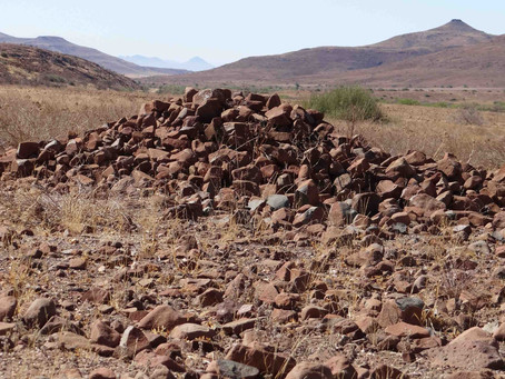 Tracking Haiseb in west Namibia