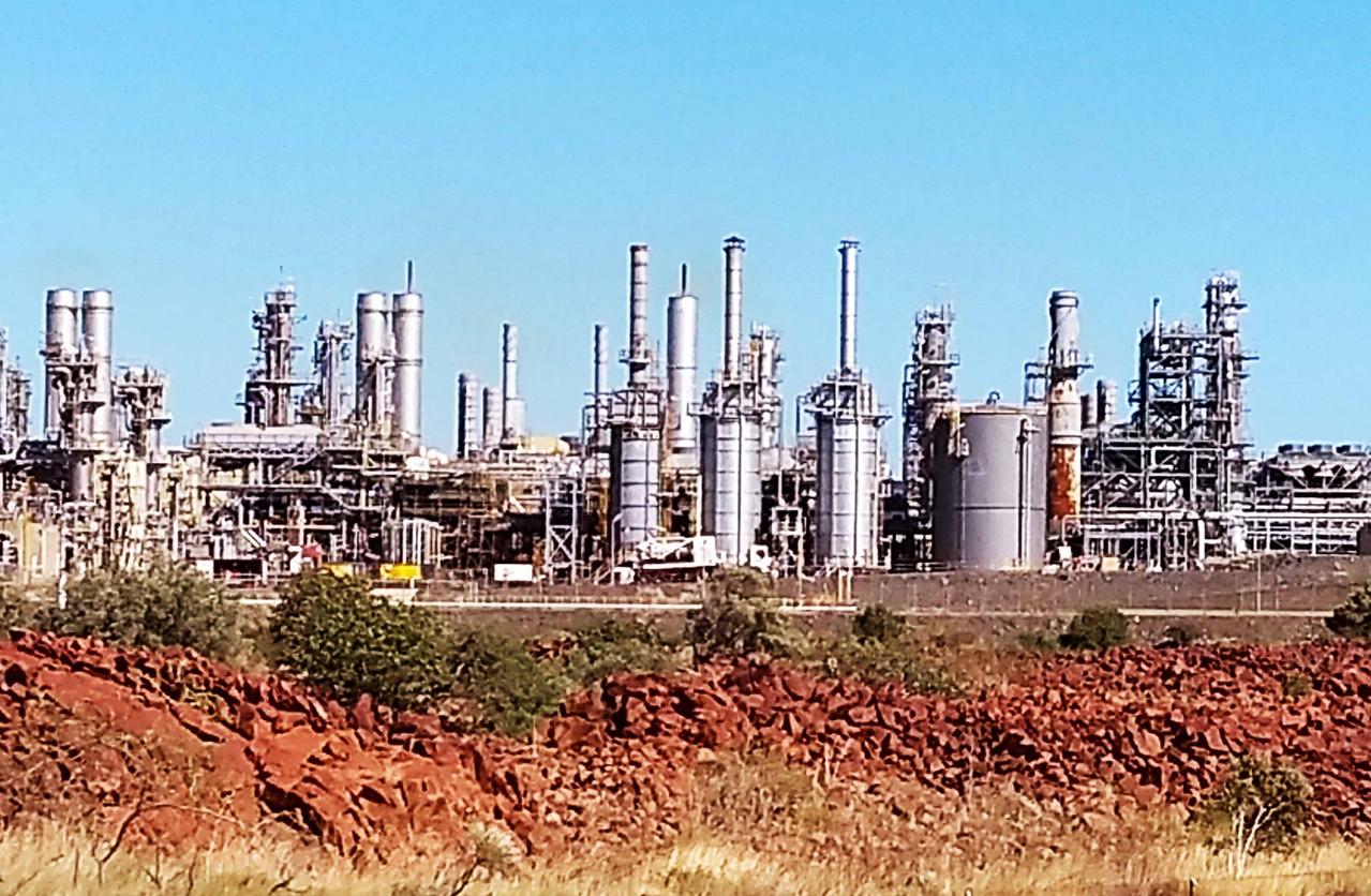 LNG refinery adj