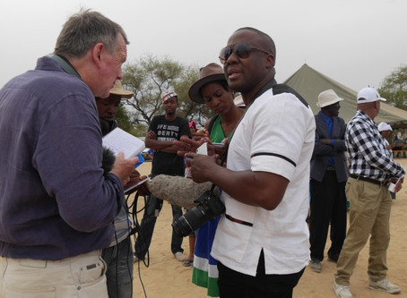 Future Pasts ethnomusicologist works with BBC journalist to create radio programme on the Damara Kin