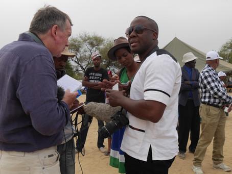 Future Pasts ethnomusicologist works with BBC journalist to create radio programme on the Damara Kin