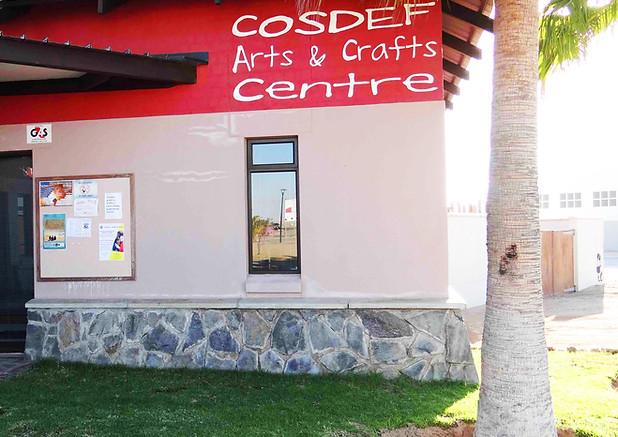 1. COSDEF entrance, Sian Sullivan 050619