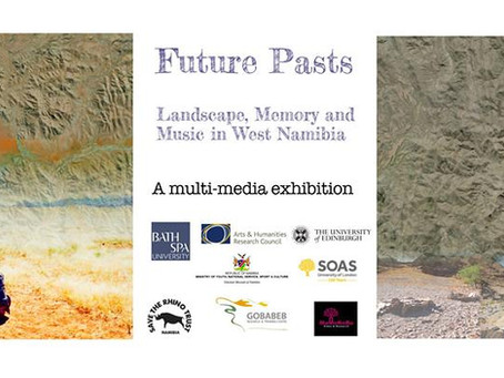 Future Pasts exhibition hosts private view (and is visited by a special guest!)