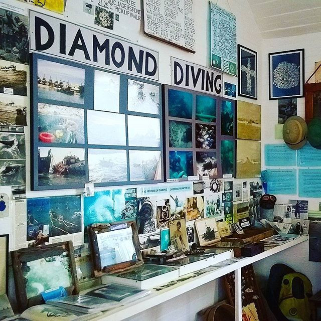 f you happen to find yourself in #portnolloth be sure to visit the uniquely informative museum by legendary diamond diver #georgemoyses. Photo: Sian Sullivan 130917.