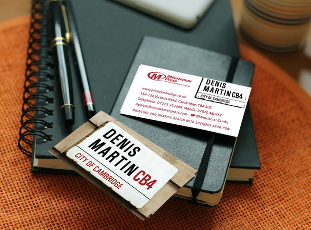 Professional calling card
