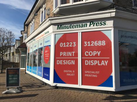 Minuteman Press Victoria Road