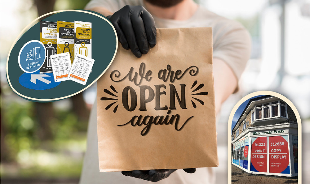 Print Essentials for reopening with Minuteman Press Cambridge