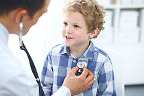 Canva - Doctor and child patient. Physic