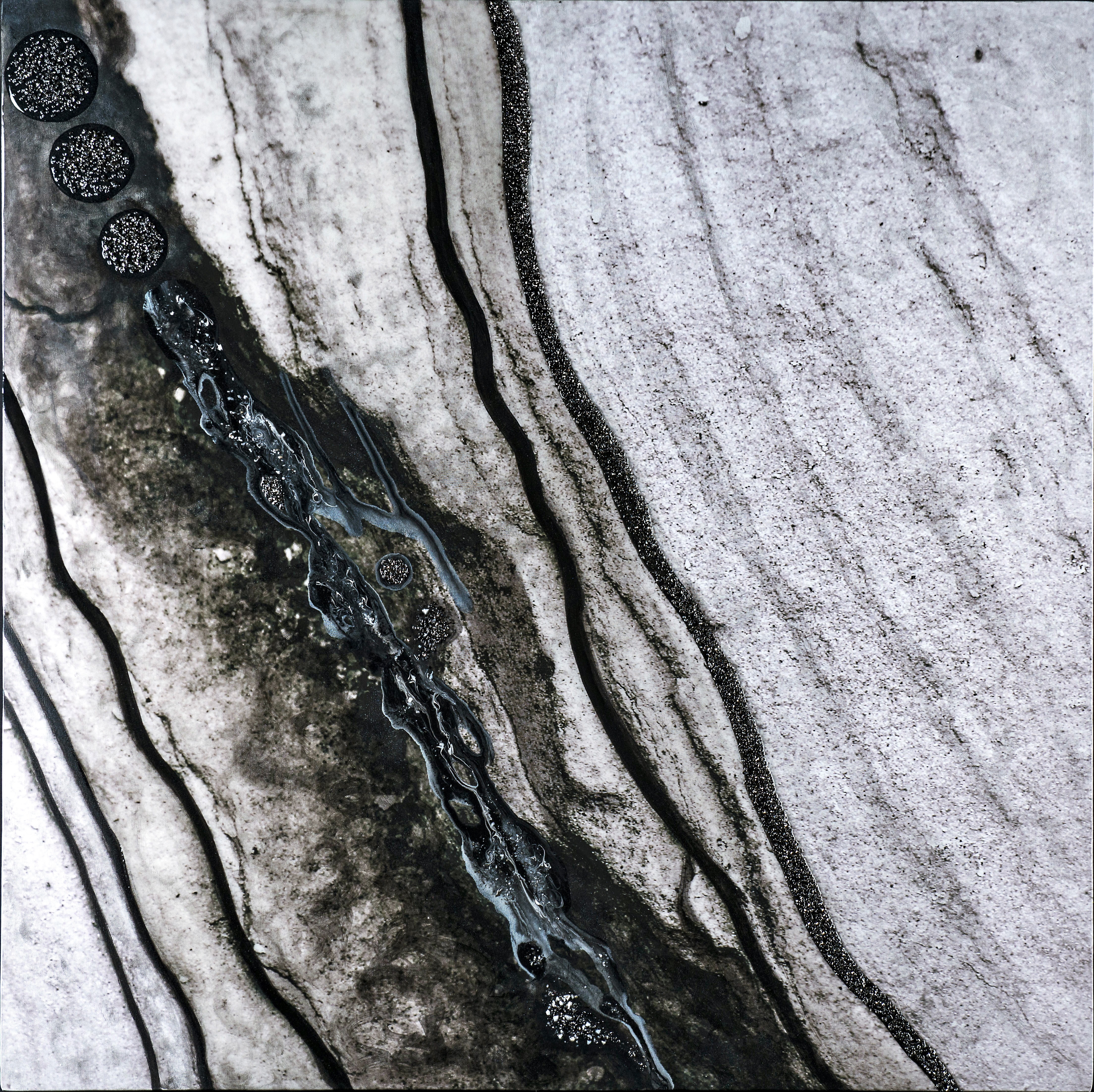 River Stone 1 (Black)