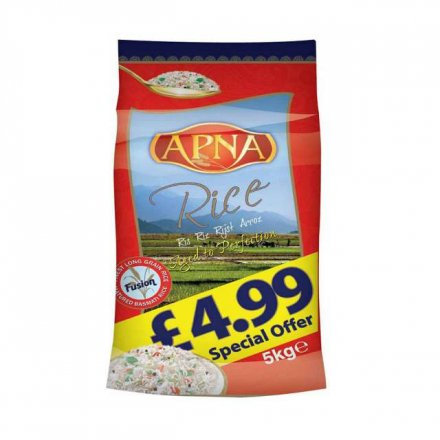Apna Long Grain Basmati Rice PM £4.99