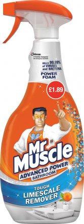 Mr Muscle Bathroom £1.89 PMP
