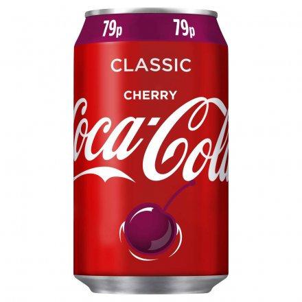 Coca Cola Cherry Regular Can PM 79p