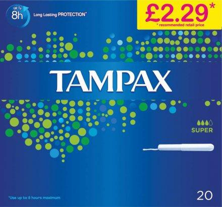 Tampax Compak Super PM £2.29