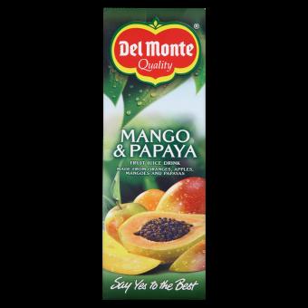 Del Monte Mango & Papaya 100% 1ltr