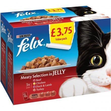 Felix Pouch Meat Selection PM £3.75