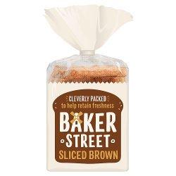 Baker Street Sliced Brown Bread 600g