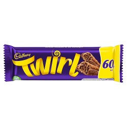 Cadbury Twirl Chocolate Bar 60p 43g