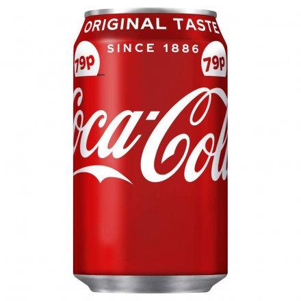 Coca Cola Regular Can PM 79p