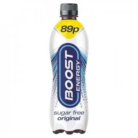 Boost Energy Sugar Free PM 89p